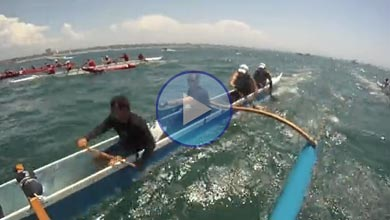 Outrigger Race in Southern California